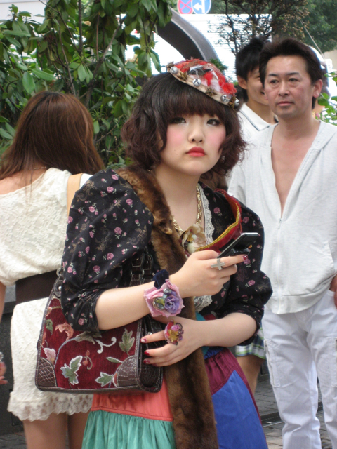 Girl in Shibuya