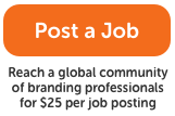 Post a Jon the Branding Gigs Job Board for Branding Professionals